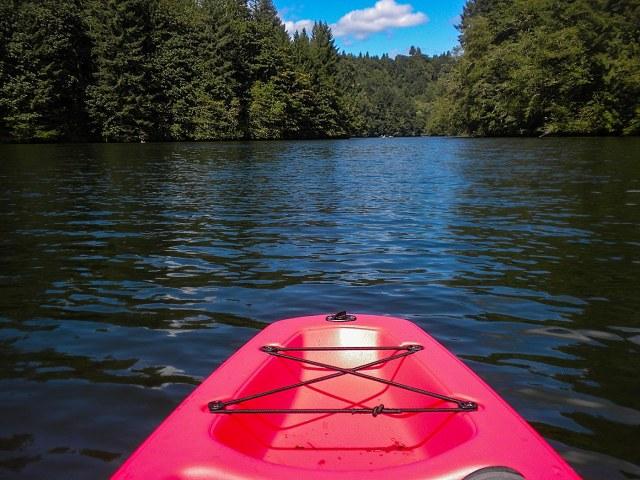 Kayak on Tilton River
