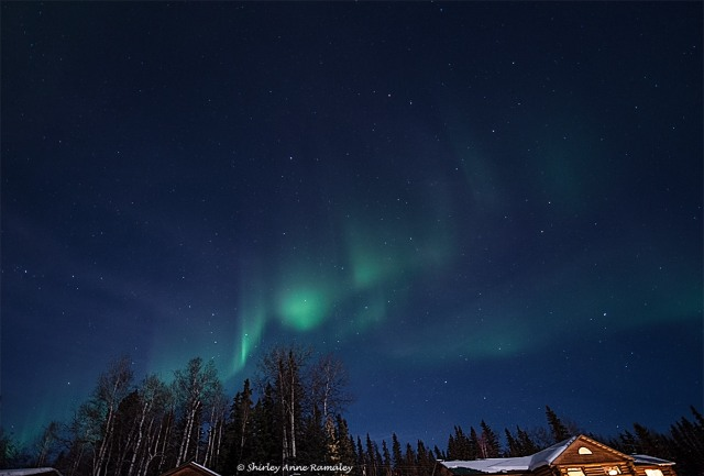 Aurora near Fairbanks 2 WIN & PASSION & BLOG