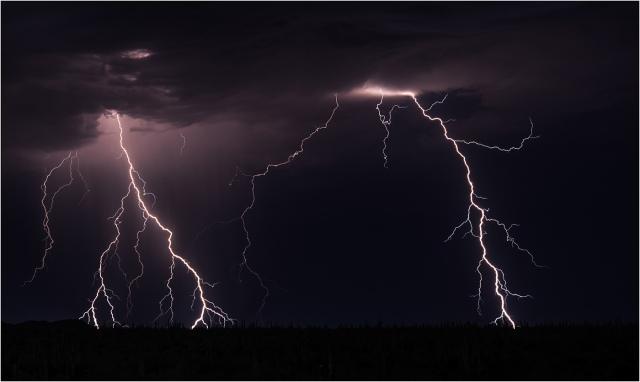 Storm at Robson