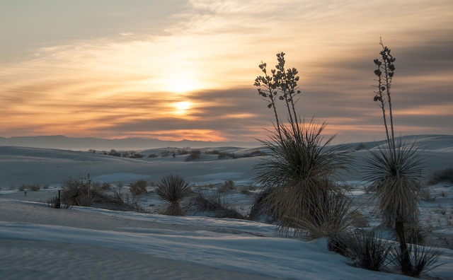 White Sands Sunrise 1-24-18 AZPHOTO, LPHOTO, BLOG