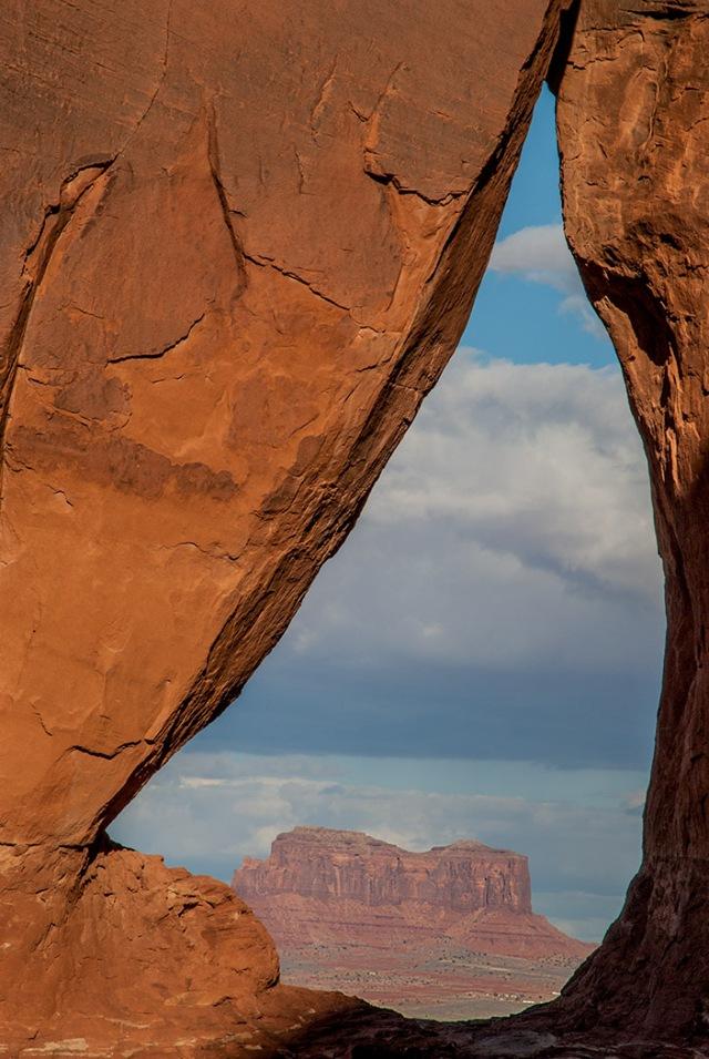 Tear Drop Arch Monument Valley Navajo Tribal Park, Arizona LPHOTO, NAT PARKS, BLOG