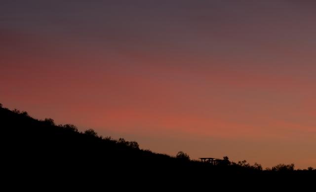 Sunset at moon shoot MAIN, BLOG, CAPTURE, PHOTO OF DAY